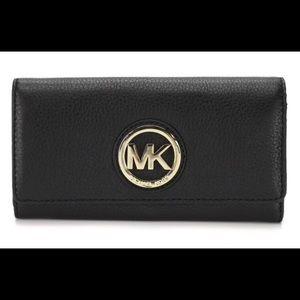 Michael Kors Signature Fulton Wallet
